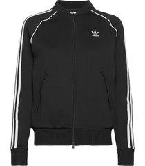 primeblue sst track jacket w sweat-shirt trui zwart adidas originals