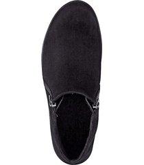 skor med dragkedjor naturläufer svart