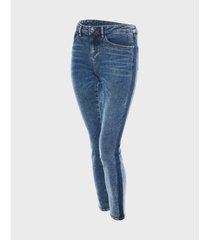 opus skinny jeans evita dark blue tts