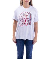 blumarine blend cotton t-shirt