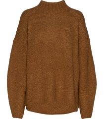 ls drop shoulder pullover stickad tröja brun 3.1 phillip lim