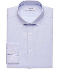 calvin klein pale blue slim fit dress shirt