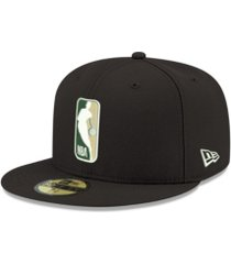 new era milwaukee bucks man alt 59fifty cap