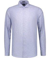 overhemd dstrezzed blauw