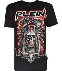 philipp plein round neck ss cowboy t-shirt