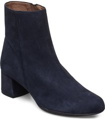 e-6401 shoes boots ankle boots ankle boot - heel blå wonders