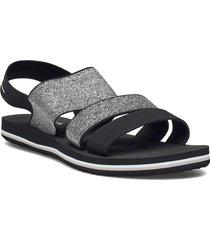 fw o'neill strap sandals shoes summer shoes flat sandals svart o'neill