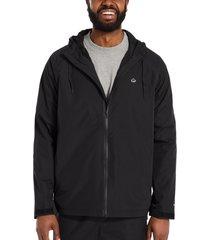 wolverine men's i-90 rain jacket black, size xxl