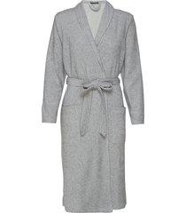 bath robe ochtendjas grijs schiesser