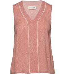 top t-shirts & tops sleeveless roze rosemunde
