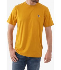 ps by paul smith zebra logo t-shirt - ochre m2r-011rz-b20064