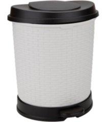 mind reader flip open soft close removable liner 21l waste bin