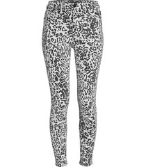 hudson women's high-rise ombre skinny pants - washed leopard - size 24 (0)