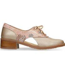 zapatos de cordon rosa bata valdemar r mujer