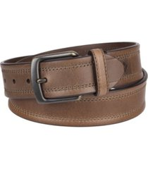 columbia men's casual leather belt