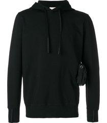1017 alyx 9sm side pocket detail hoodie - black
