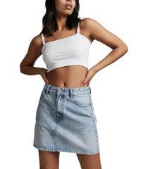 women's the classic denim skirt