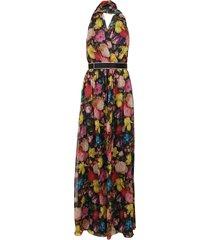 max mara multicolor viscose dress
