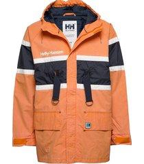 hh salt heritage jacket parka jas oranje helly hansen