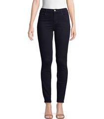 j brand women's maria high-rise skinny jeans - shy - size 23 (00)