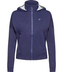 accelerate jacket outerwear sport jackets blå asics