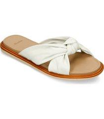 sandalias blanco bata zuri planta r mujer