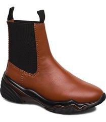 chelsea shoes chelsea boots brun ganni