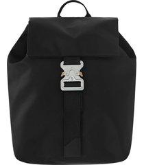 1017 alyx 9sm classic tank backpack in black nylon