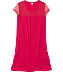 camicia da notte (rosso) - bpc bonprix collection