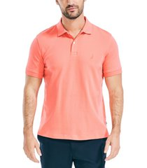 nautica men's classic fit soft touch polo shirt