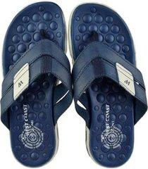3323eec43 Chinelos - Masculino - De Ouro - Azul E Branco Marinho - 2 produtos ...