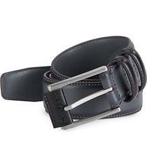 martin faux-leather belt