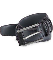 martin faux-leather belt