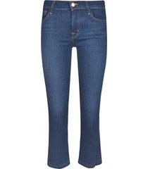 j brand selena md-rise bootcut jeans