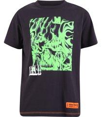 heron preston printed t-shirt