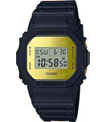 reloj g shock dw-5600bbmb-1dr negro resina