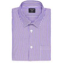 camisa thompson a rayas - morado
