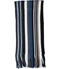 bufanda azul rayada vinson runner