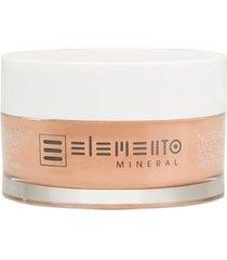 hidratante facial efeito mate elemento mineral nude balm 50g