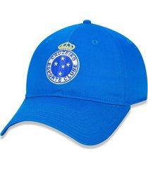 bonã© new era 920 strapback cruzeiro aba curva strapback azul - azul - masculino - dafiti