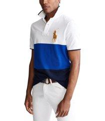polo ralph lauren men's custom slim-fit polo shirt