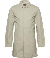 t-coat dunne lange jas beige brixtol textiles