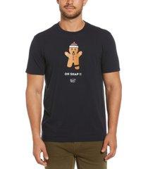 original penguin men's gingerbread crew t-shirt