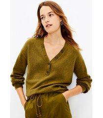 loft henley sweater