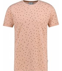 kultivate 1901010212 473 t-shirt chips pink moon rood