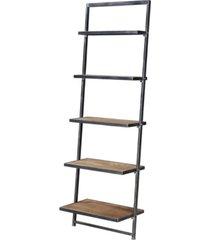 laredo 5 tier ladder bookcase