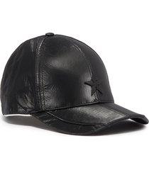 'star' appliqué baseball cap