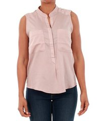 overhemd vero moda 10192814 vmerika mix s/l shirt nfs sphinks