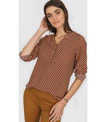camisa marrón eco sistema