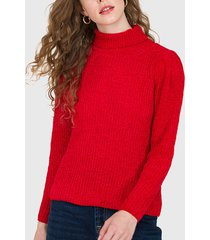 sweater io rojo - calce holgado